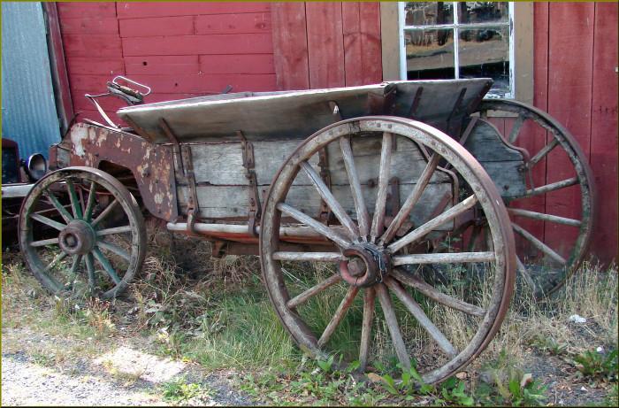 Shaniko wagon