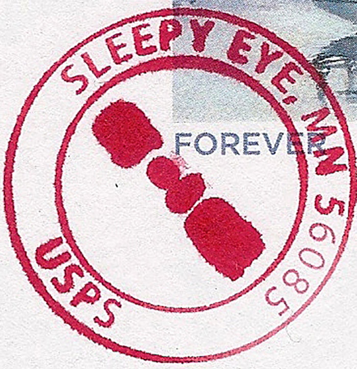 14. Sleepy Eye. Named appropriately for a man with droopy eyelids or was it just eyelid?