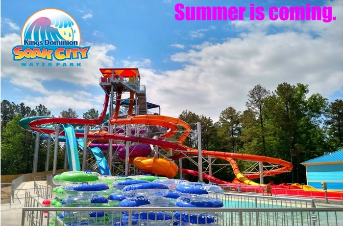 2. Soak City at King's Dominion, Doswell