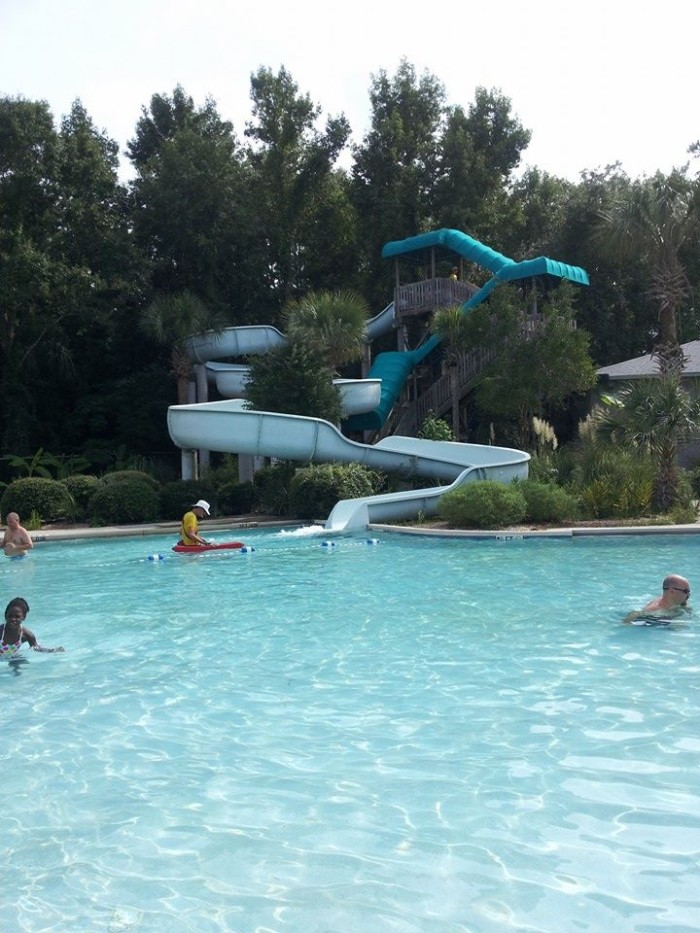 James Island County Park Splash Zone