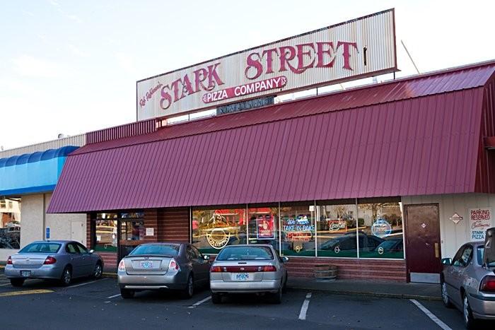 3) Stark Street Pizza Company, Portland