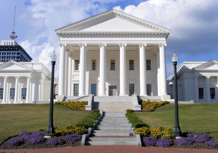 1. The State Capitol Building, Richmond