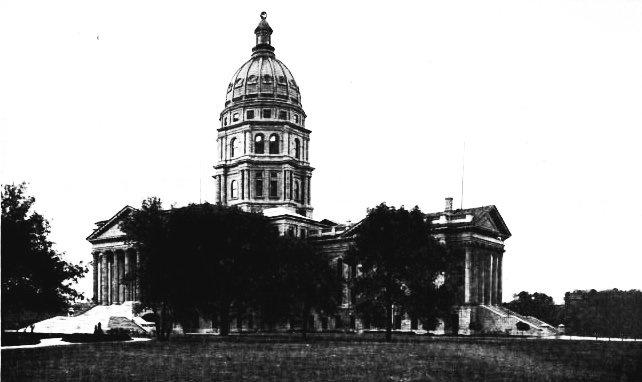 14.) Kansas State Capitol in Topeka (1912)