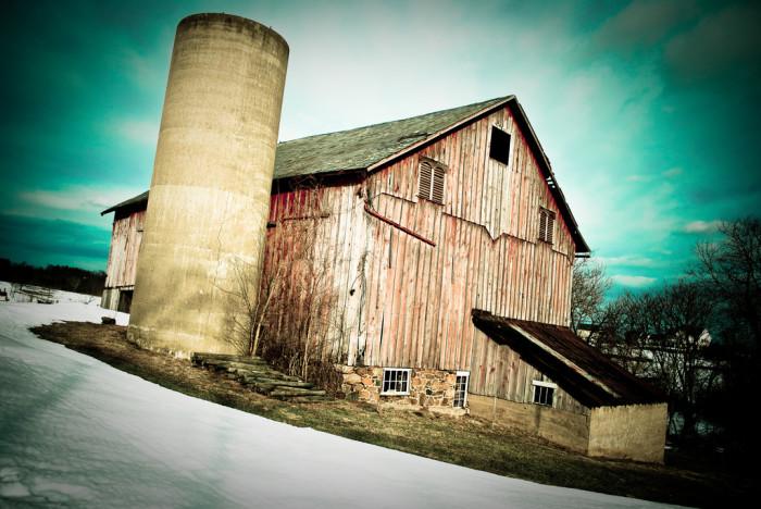 22. Old Barn Surrealism