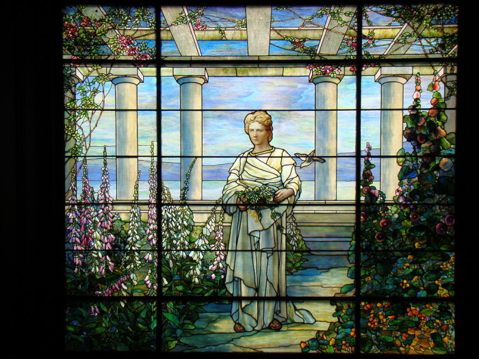 Swannanoa stained glass