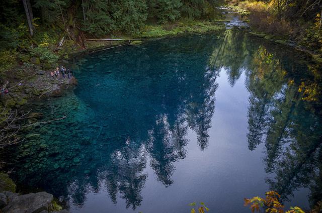 2) Tamolitch Pool, McKenzie River Trail