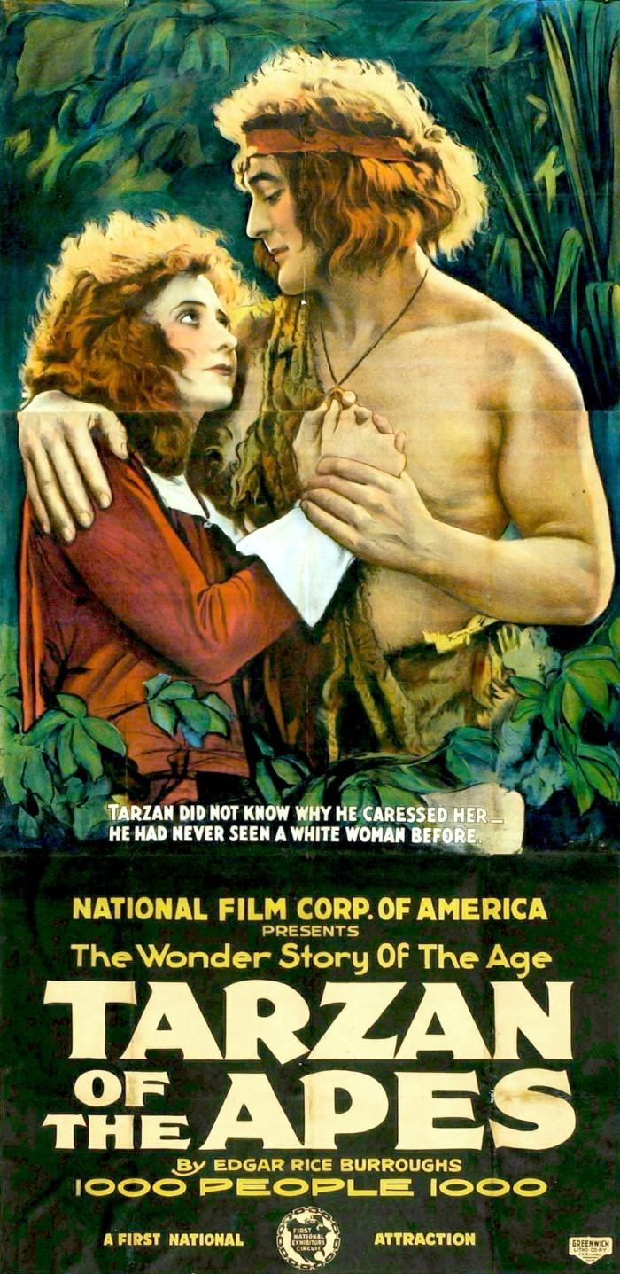 9) The first Tarzan movie, Tarzan of the Apes, was filmed in Louisiana.