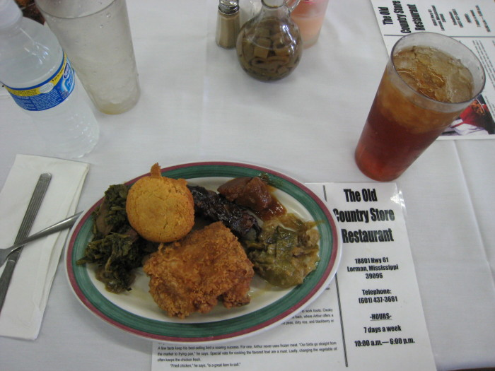 10. The Old Country Store in Lorman, MS