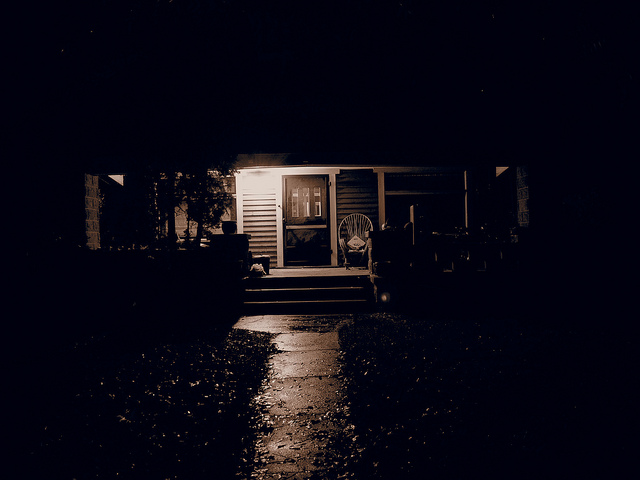6) When your mom turned on the porch light, it meant it's time to go inside
