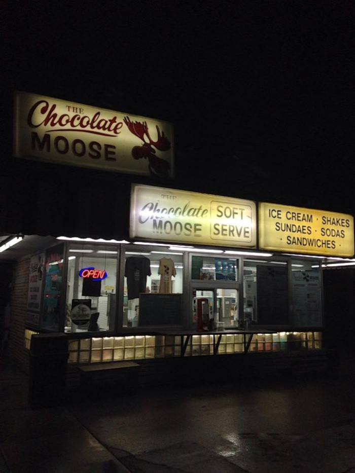 8. The Chocolate Moose in Bloomington. Homemade deliciousness since 1933.