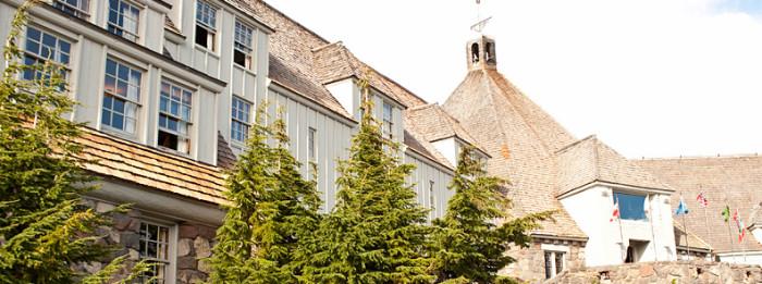 1) Timberline Lodge, Mount Hood