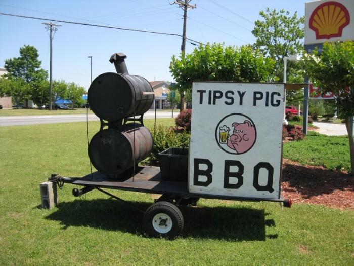 11) Tipsy Pig BBQ -3020 Five Forks Trickum Rd SW, Lilburn, GA 30047