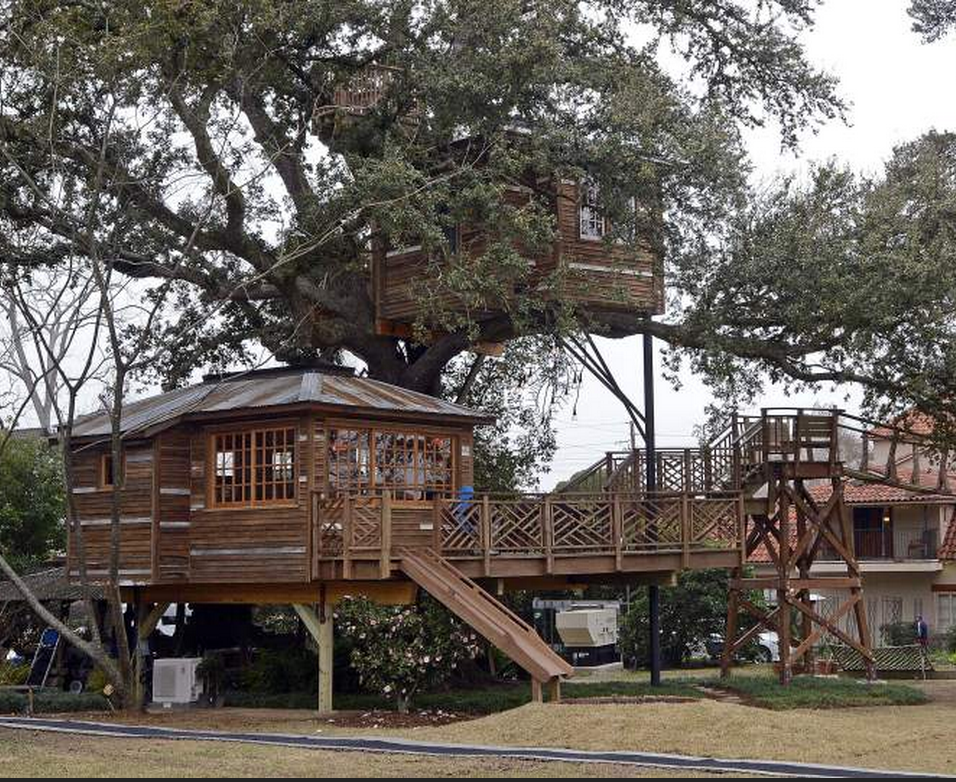 9 of the most fantastic treehouses in louisiana - Treehouse Masters Prices