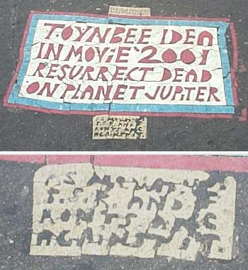 4. Philadelphia was one of the first locations that the mysterious Toynbee tiles were noticed, and has become central to the phenomenon.