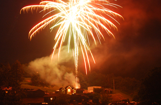 5. Tweetsie Railroad Fireworks