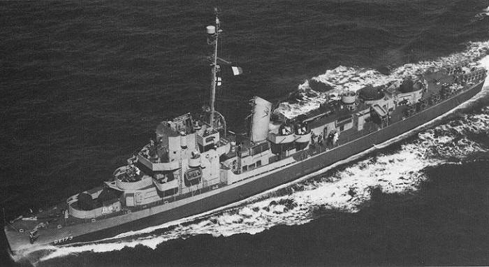 2. The Philadelphia Experiment made this U.S. destroyer escort disappear in 1943.