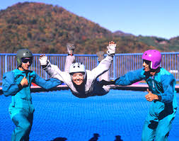 2. Go skydiving, minus the plane and heights!
