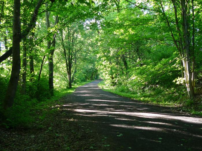 10. Ride the Virginia Creeper Trail through Abingdon and Damascus