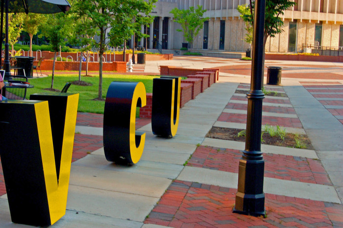 31. Virginia Commonwealth University makes a statement in Richmond