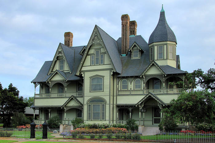7) The W. H. Stark House (Orange)