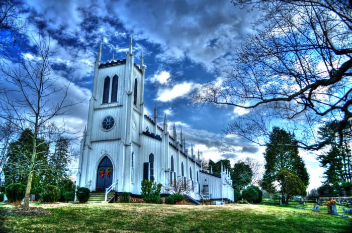 30. The Wadell Memorial Presbyterian Church in Rapidan, built 1874