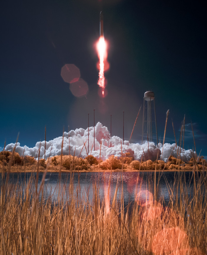 18. Rocket Launch at Wallop's Island