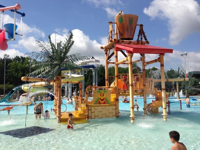 7. Splash Island