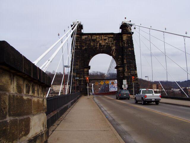 6. The Wheeling Suspension Bridge