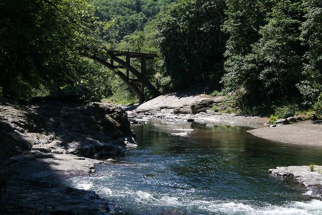 1) Wilson River and Lower Bridge Creek Falls