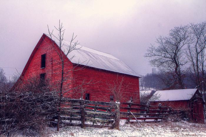 21. Winter Barn, Pizarro