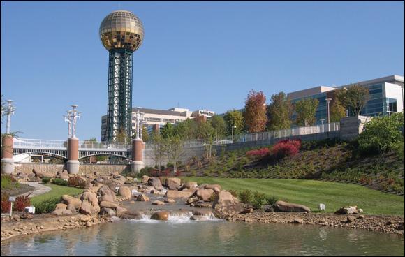 1) World's Fair Park - Knoxville