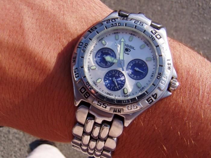 7. A Wristwatch