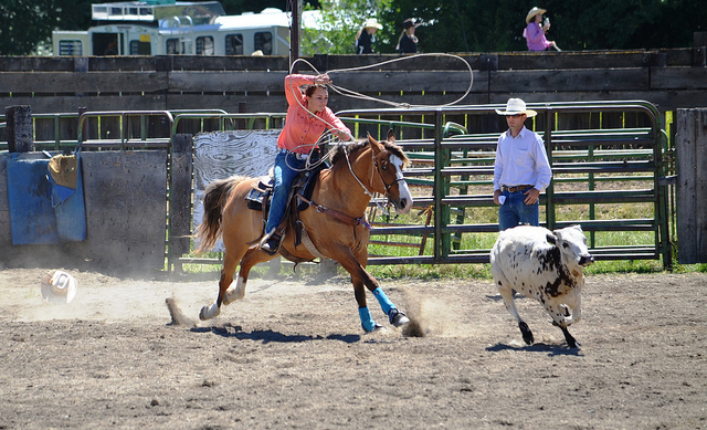 4) You were more likely to spend your weekends at the rodeo