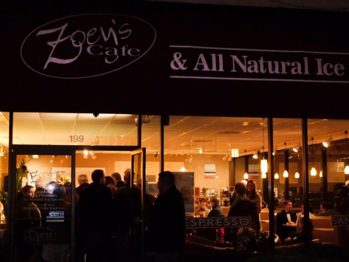 1) Zoey's Cafe & All Natural Ice Cream, Ashland
