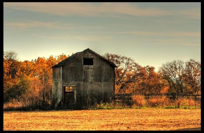 7. What a beautiful autumn scene in Union Grove.