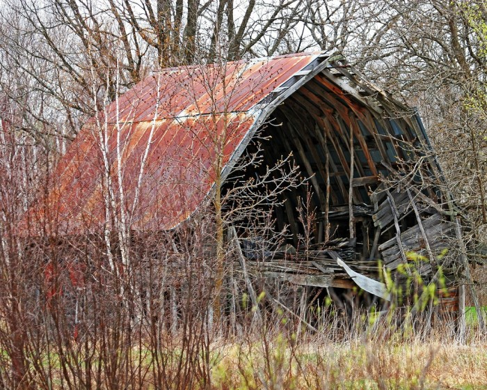 11. This old barn is up in Northern Wisconsin.