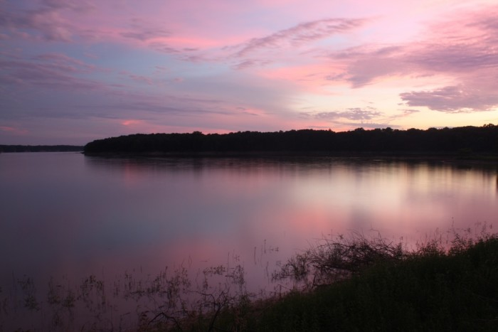2. Lake Shelbyville (Shelby and Moultrie Counties)