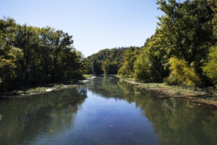 6. Lake Springfield (Springfield)