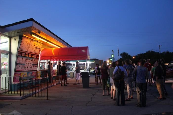 9. If it's summer in Wisconsin, you definitely need to enjoy great ice cream outside. My best bet: Zesty's (De Pere).