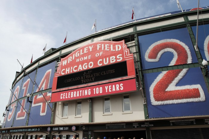 8. Interested in being more than friends? Consider taking your date to the Friendly Confines--Wrigley Field (Chicago)