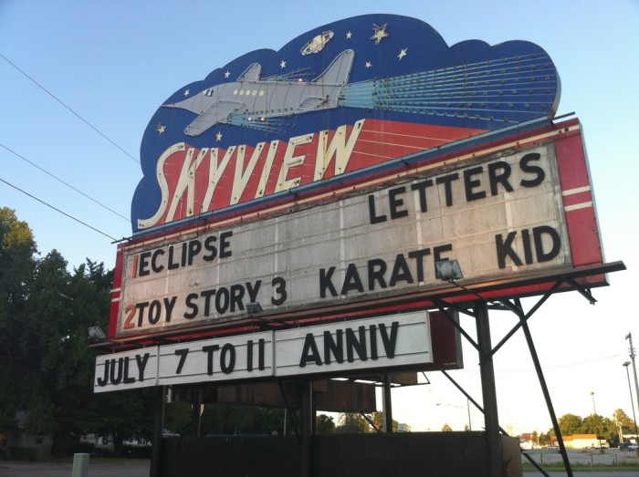 5. Have an old-school date at Skyview Drive-In (Belleville).