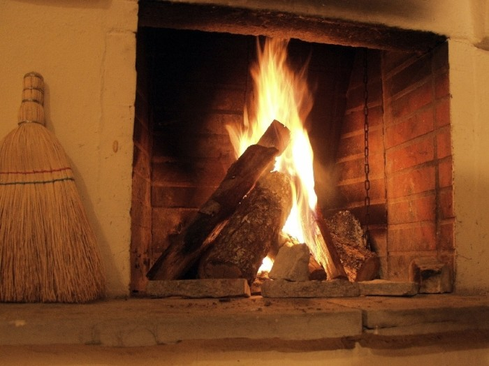 7. If you don't want to end up a popsicle, you'll need some heat source over the winter. But nothing beats a nice fireplace.