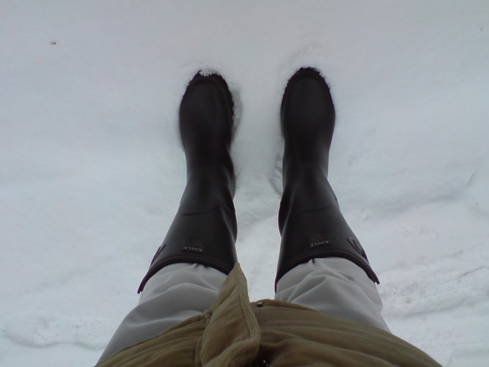 9. Don't get the cute boots. If you plan on walking in the snow, get yourself some heavy duty boots.