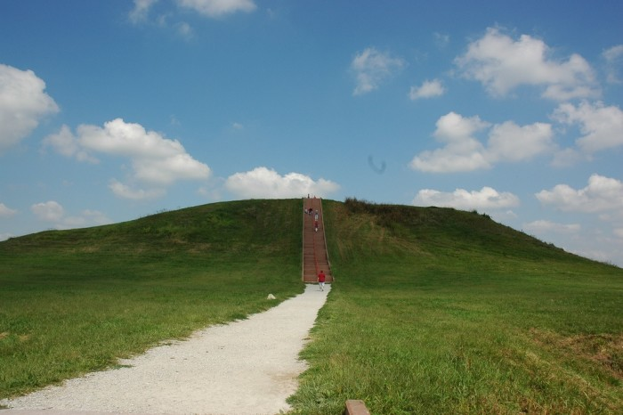 8. Cahokia Mounds (Collinsville) has remnants of the most sophisticated prehistoric civilization north of Mexico.