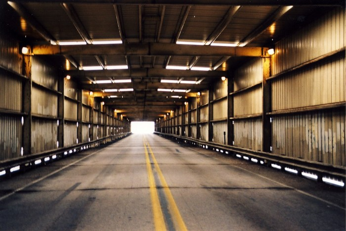 1. Love this shot of the inside of a covered bridge in Channahon.