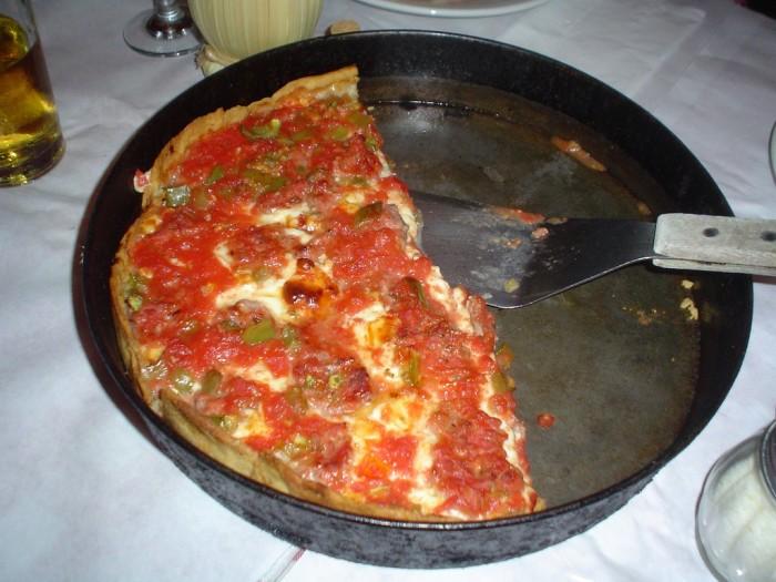 1. Deep Dish Pizza