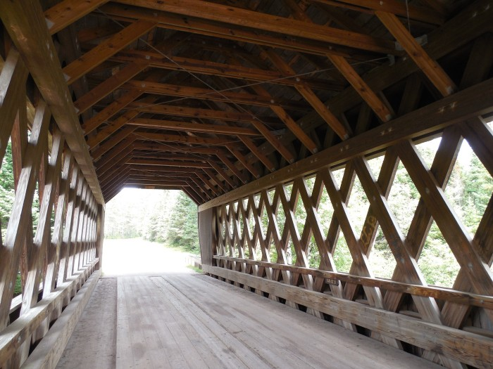 1. Smith Rapids Covered Bridge (Chequamegon National Forest)