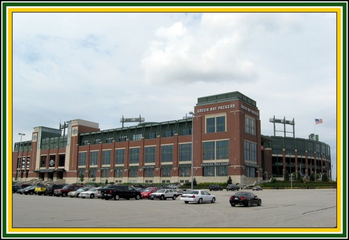 1. Lambeau Field. The best arena in all of sports.