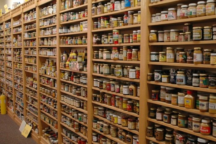 5. The National Mustard Museum (Middleton) is a one-of-a-kind experience.