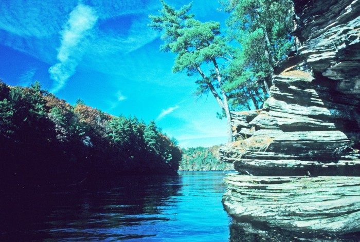 6. The Wisconsin Dells have incredible beauty that is peerless.